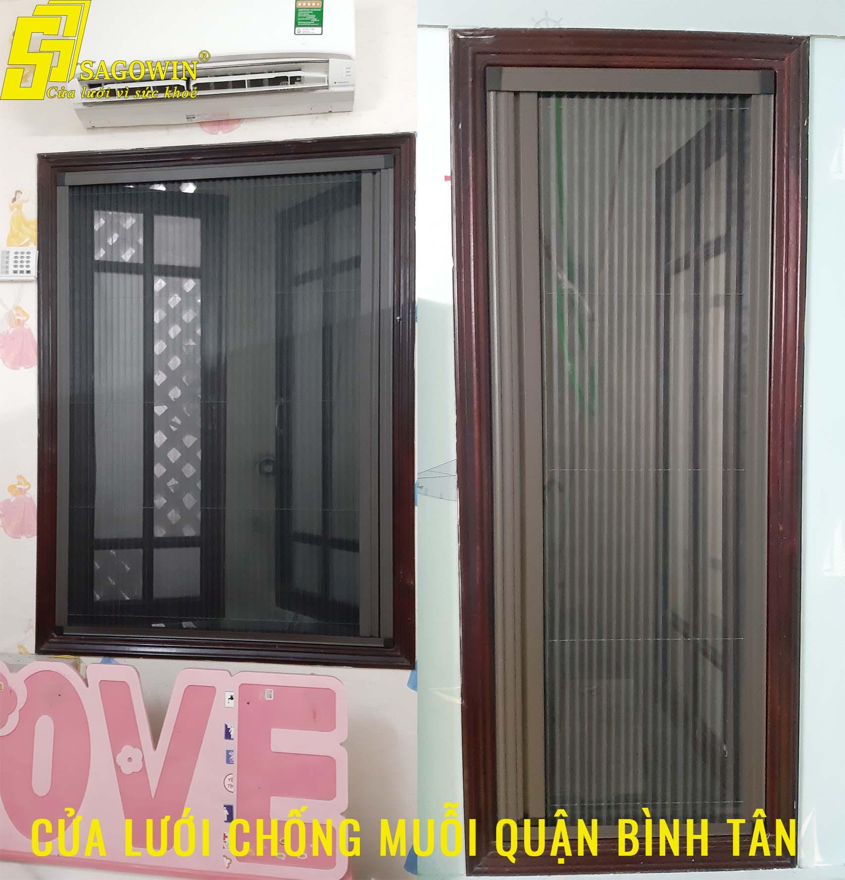 Cửa lưới chống muỗi quận Tân Bình