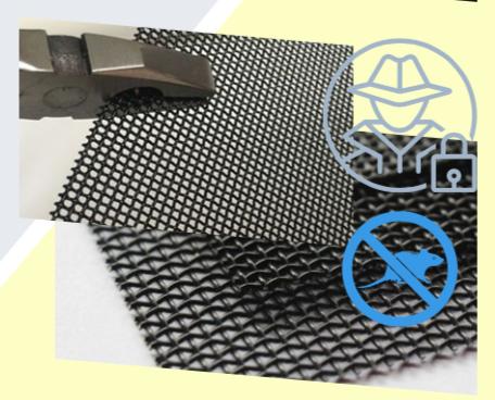 Lưới inox 316 dàu 0.8mm