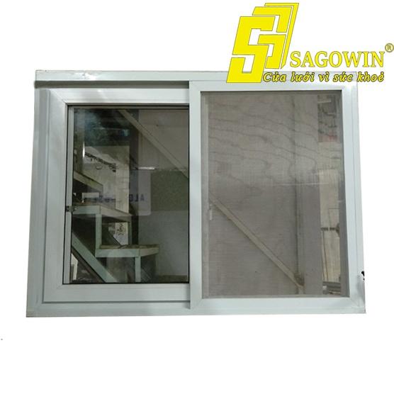 Cửa lưới lùa chống muỗi và côn trùng 1 cánh mỏng 02 MSP SWE-M1