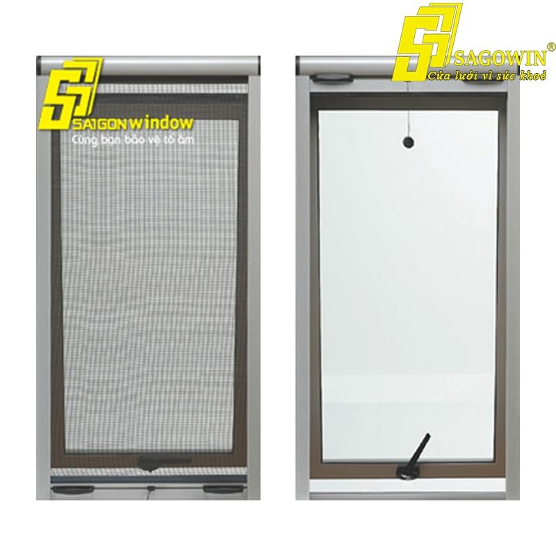 Cửa Lưới Chống Muỗi Cuốn Lên Chống Bung Mép Hệ Sagowin 01 MSP: SWA-L