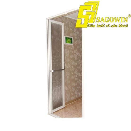 Cửa lưới chống muỗi mở quay 1 cánh Alo House 01 MSP SWG-M1